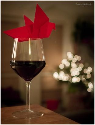 Wino i ptak - choinka-2